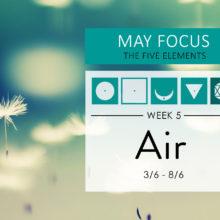 May Focus Week 5: The element of Air (vayu)